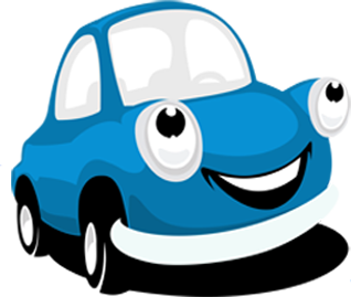 Car trip clipart cartoon blue car vector download Fun Road Trip Games For The Whole Family vector download