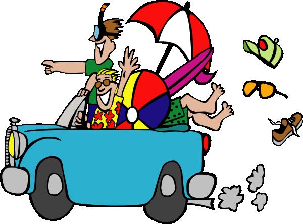 Car trip clipart cartoon blue car jpg freeuse download Road Trip Cartoon Clipart - Clipart Kid jpg freeuse download