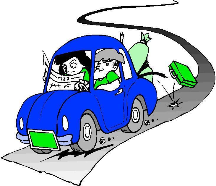 Car trip clipart cartoon blue car banner free download Blue Car Road Trip Clipart - Cliparts and Others Art Inspiration banner free download