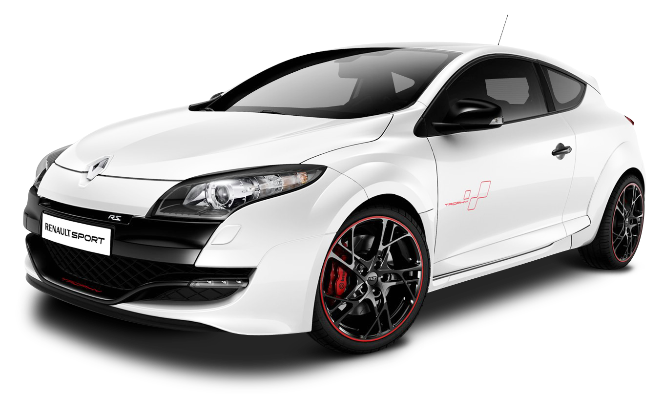 Car trophy clipart vector royalty free library White Renault Megane RS Trophy Car PNG Image - PurePNG   Free ... vector royalty free library