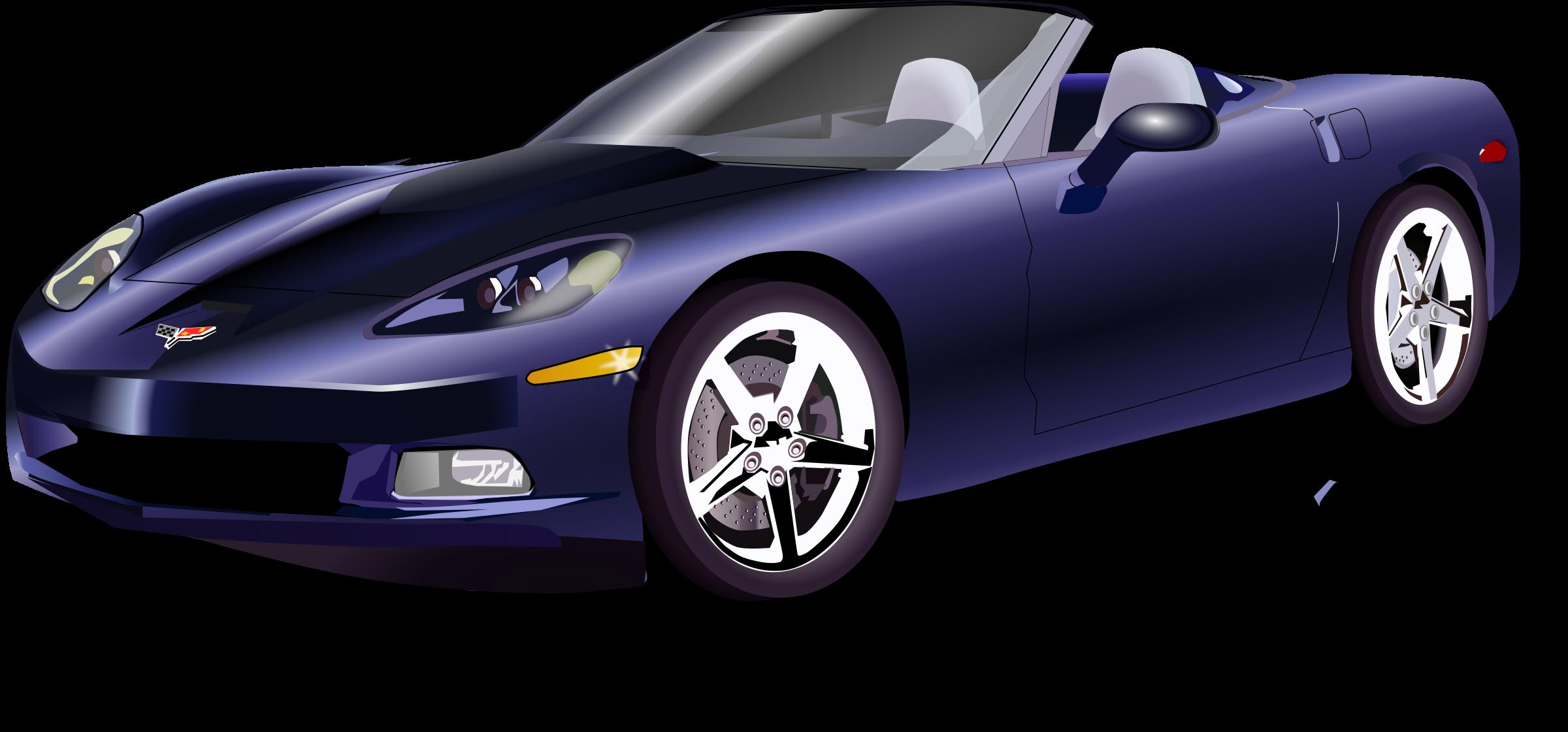 Car turbo clipart graphic free stock Clipart - Vette graphic free stock