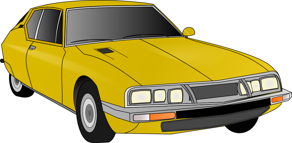 Car vector clipart royalty free stock clipartist.net   Clip Art   yellow old car wall paper art - Clip ... royalty free stock