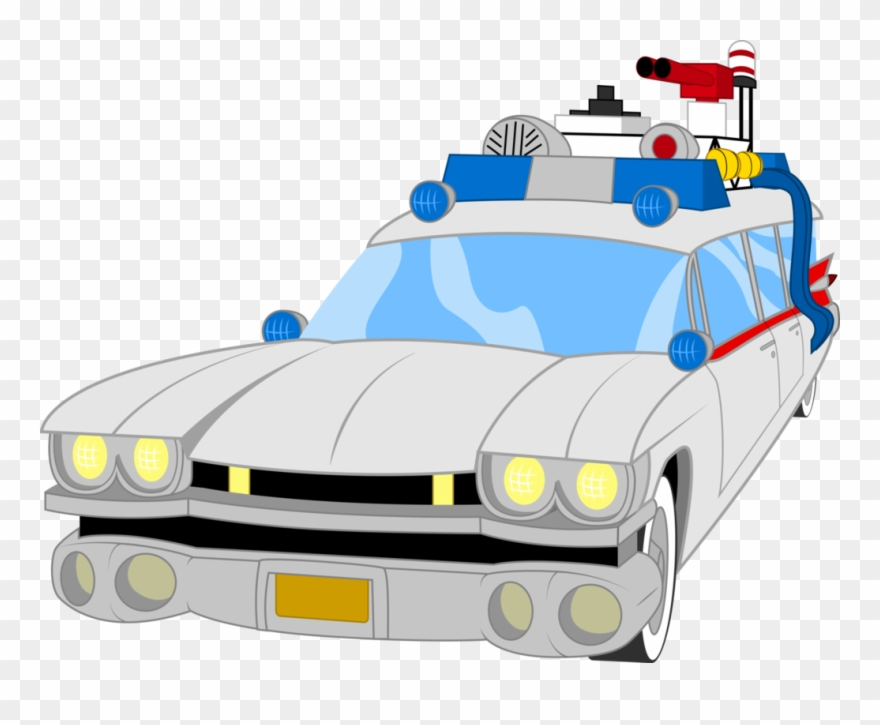 Ghostbusters Vector Car Png Black And White Stock - Ghostbuster Car ... clipart royalty free download
