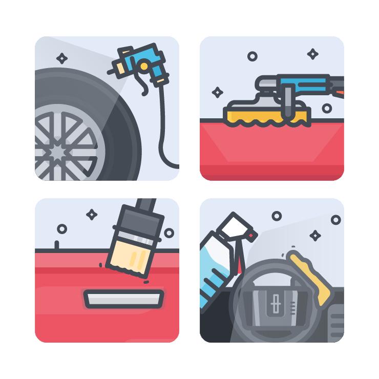 Car wash bucket clipart image transparent A Beginner's Guide to Car Detailing   Washos Blog image transparent