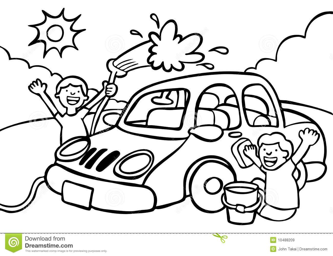 Car wash car clipart clip royalty free Wash the car clipart - ClipartFox clip royalty free