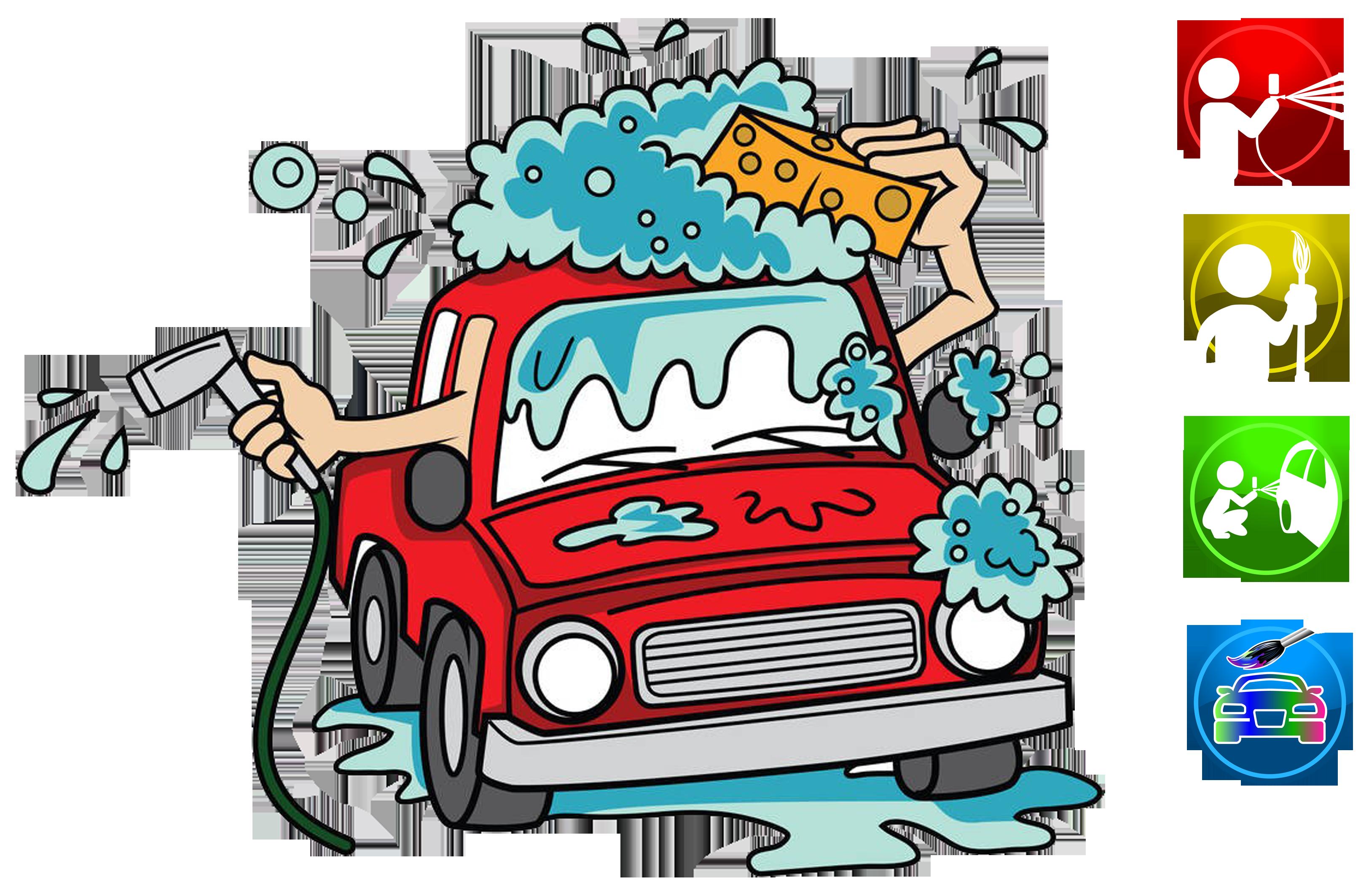 Car wash car clipart banner black and white Car wash Cartoon Clip art - Cartoon car wash advertisement 3248*2126 ... banner black and white