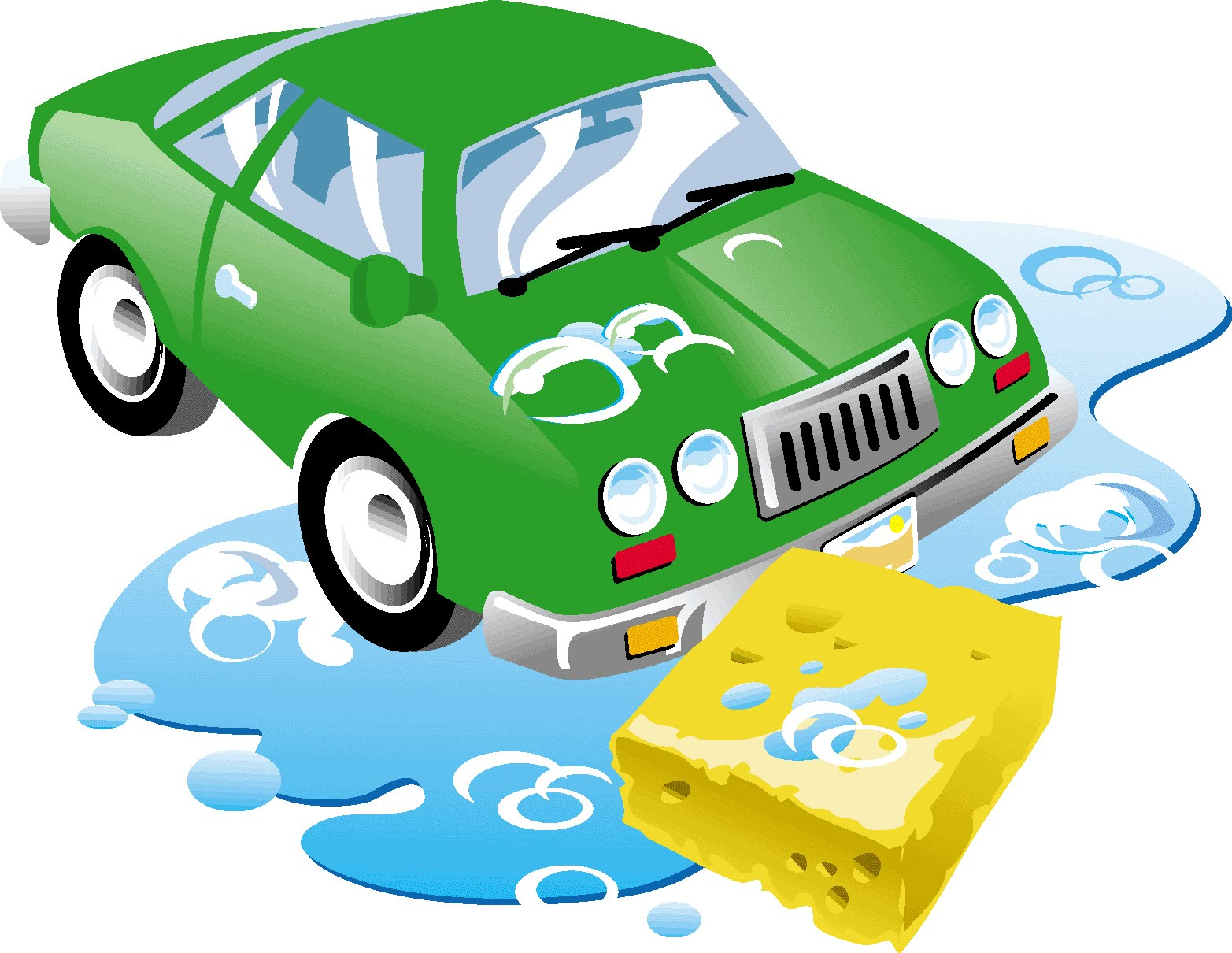 Car wash car clipart png black and white download Wash car clipart - ClipartFest png black and white download