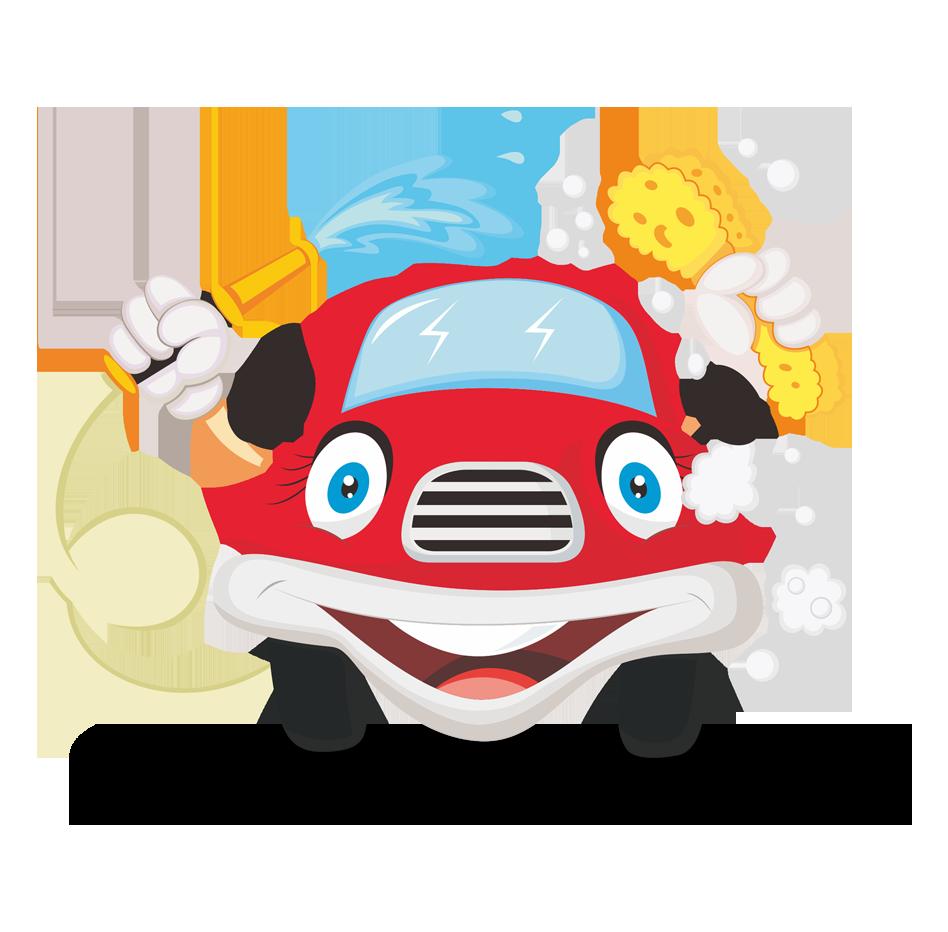 Car wash sponge clipart clip art black and white library Car wash Cartoon Illustration - Cartoon red car 948*932 transprent ... clip art black and white library