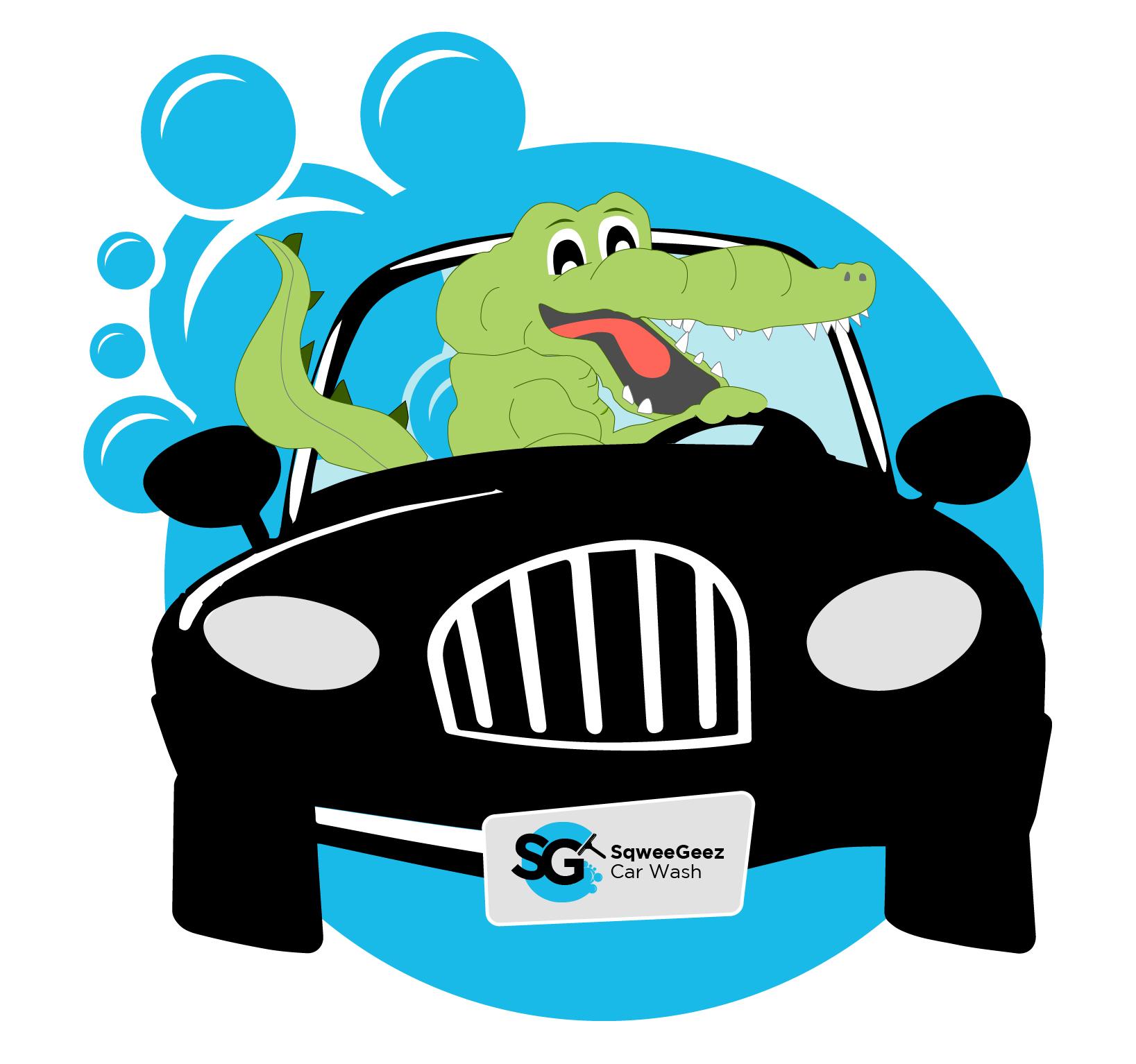 Car wash suds cliparts vector transparent stock SqweeGeez Car Wash vector transparent stock