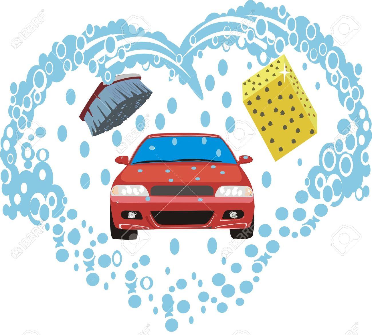 Car washing clipart image free download Water car wash clipart - ClipartFest image free download