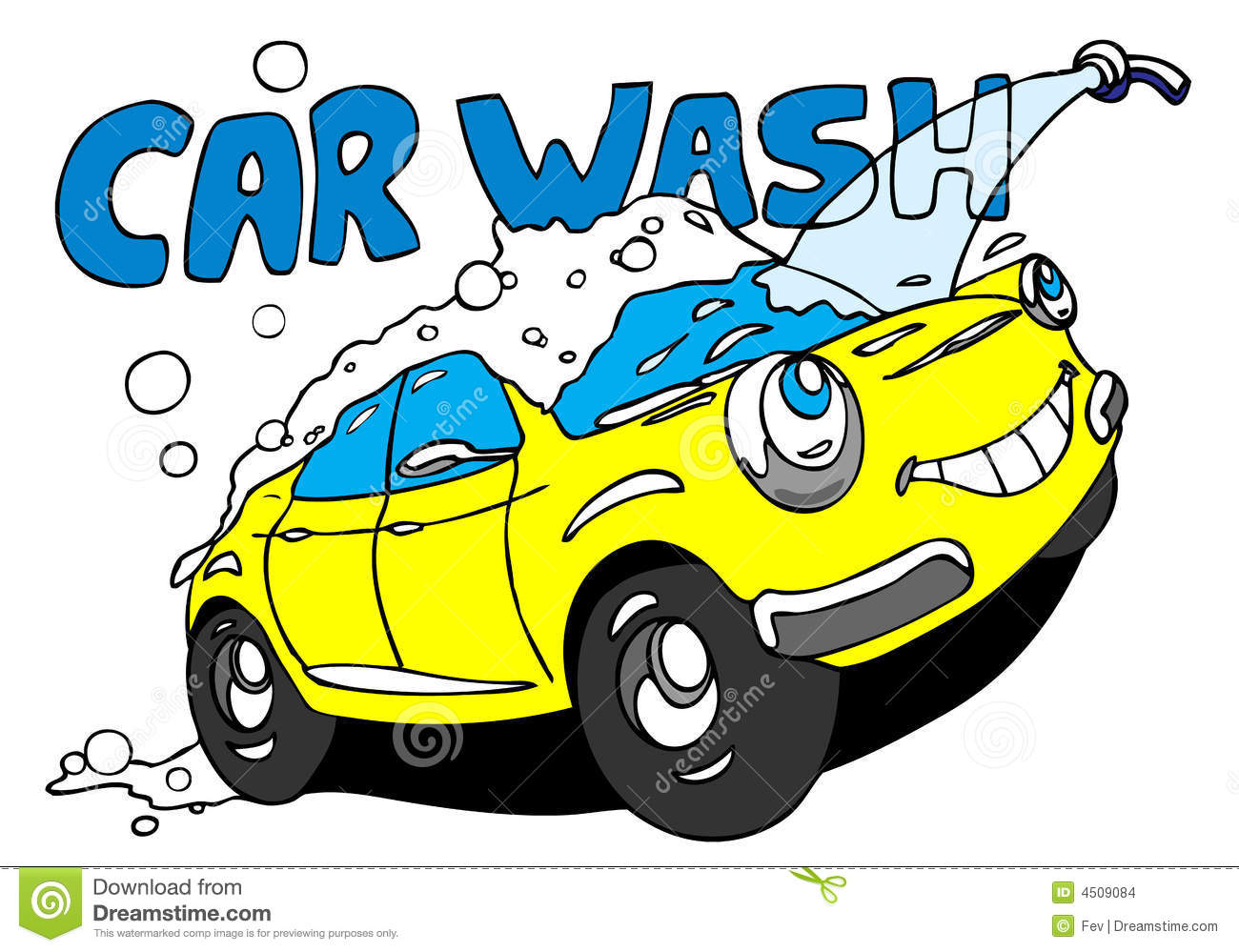 Car washing clipart banner black and white stock Hand wash car clipart - ClipartFest banner black and white stock