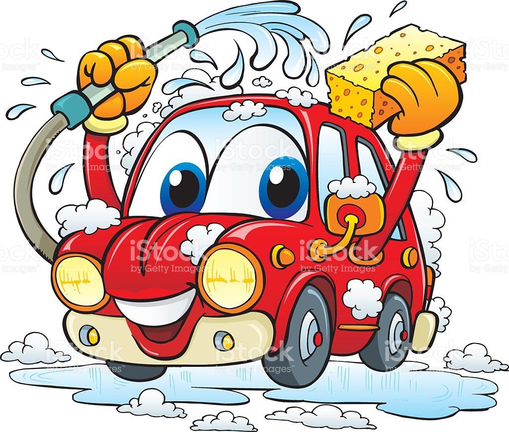 Car washing clipart. Wash vector clipartfest art