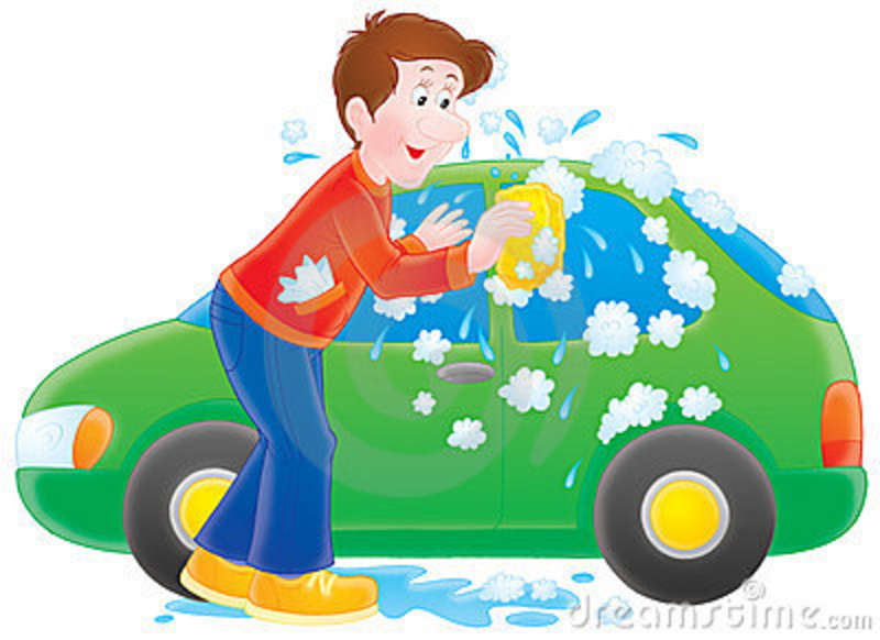 Car washing clipart banner freeuse library Car washing clipart - ClipartFest banner freeuse library