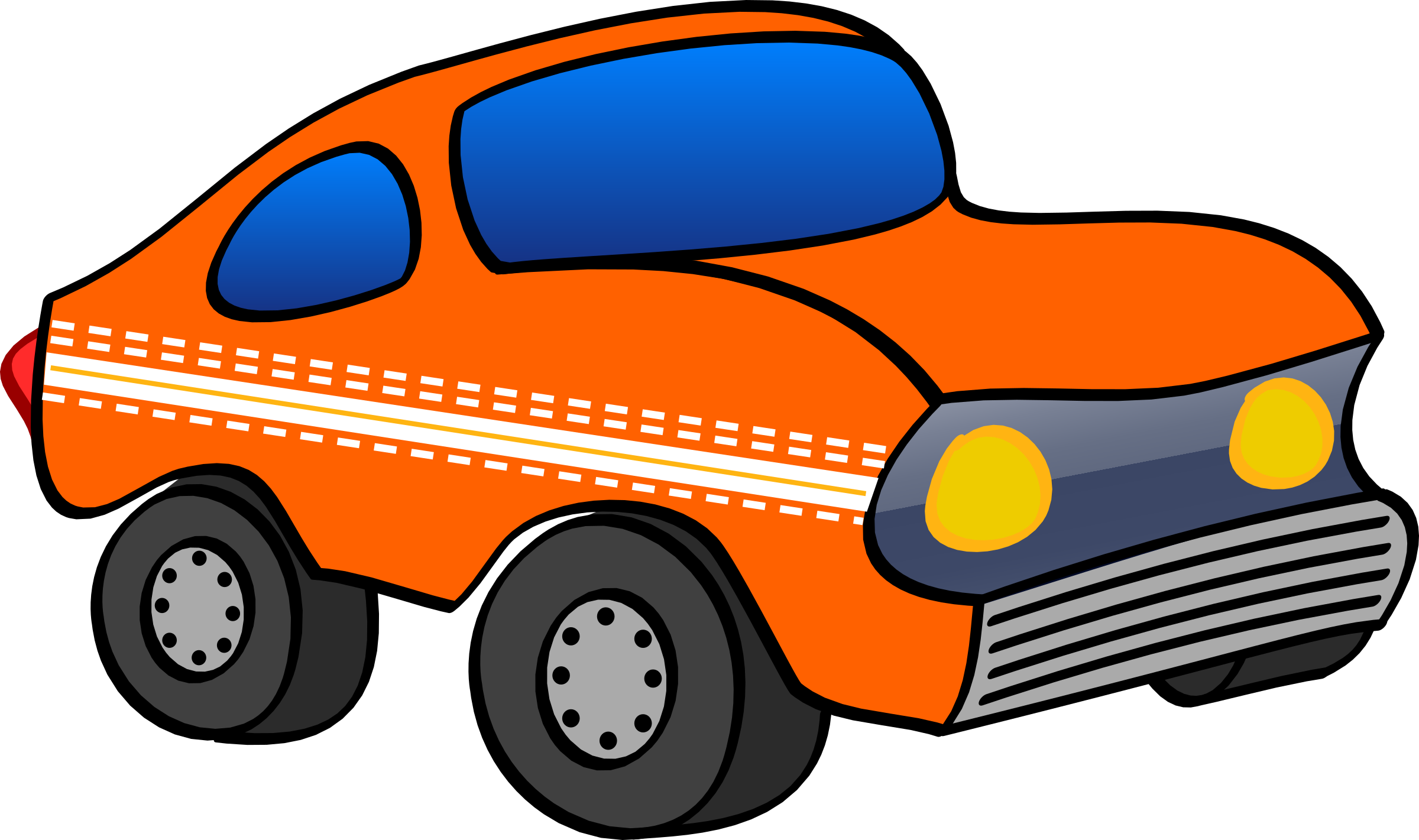 Orange car clipart clip art freeuse library orange funny car Icons PNG - Free PNG and Icons Downloads clip art freeuse library