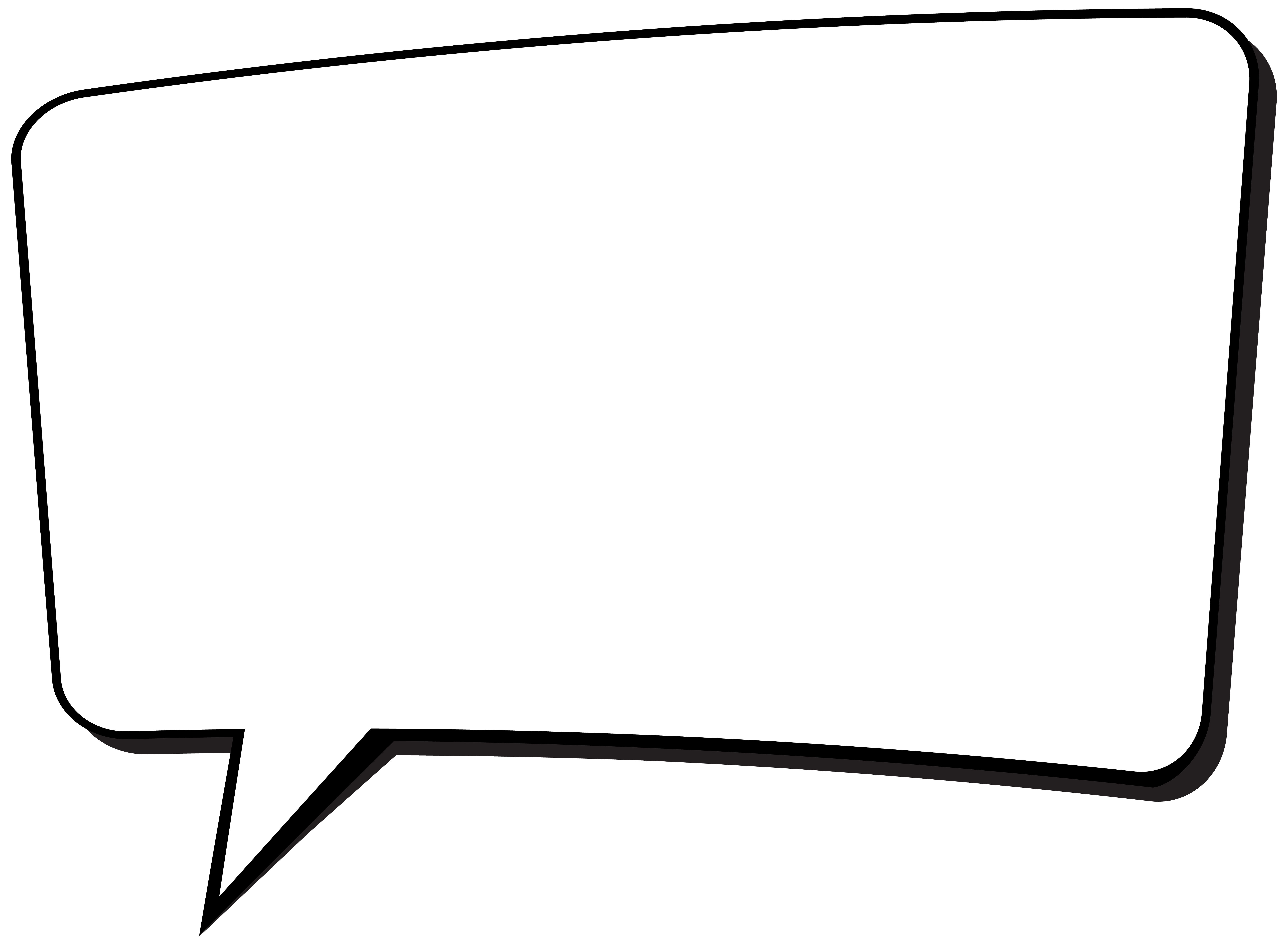 Car with bubbles clipart picture black and white Black and white Car - Comics Speech Bubble Transparent PNG Clip Art ... picture black and white