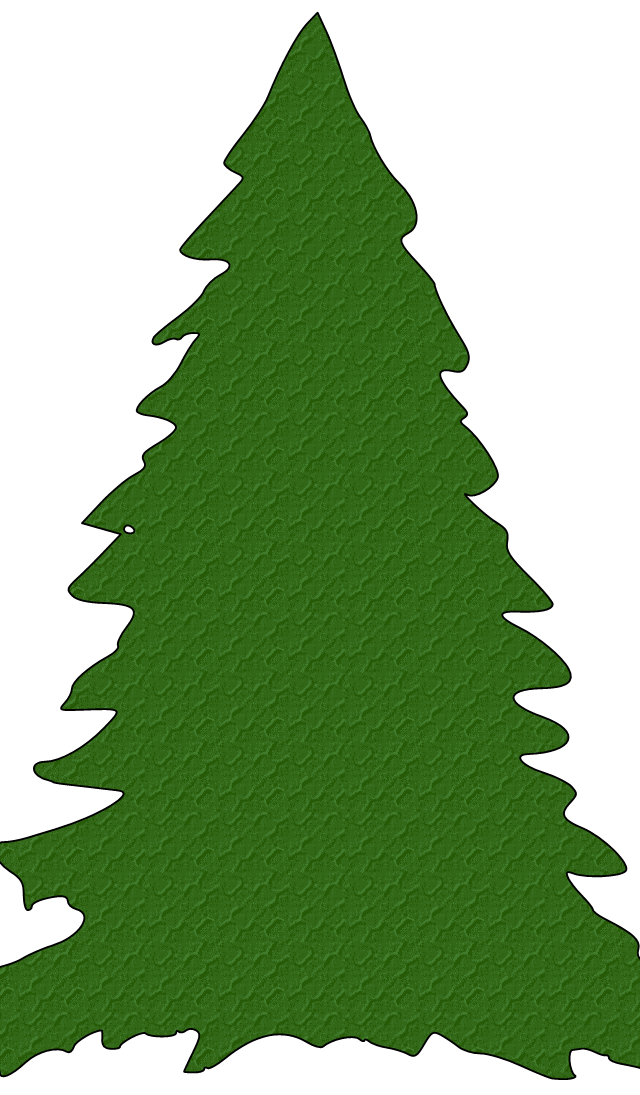 Pine tree outline clipart picture royalty free Clip Art Christmas Tree Outline | Clipart Panda - Free Clipart Images picture royalty free