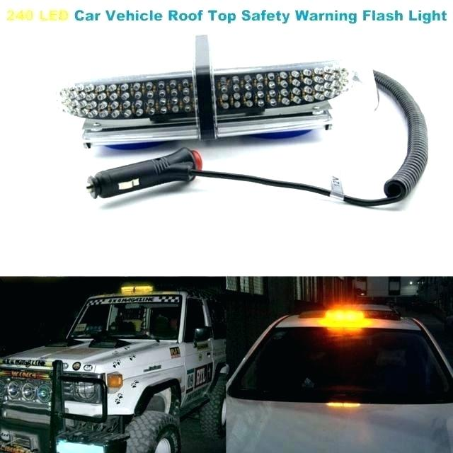 Car with hazard lights on clipart picture freeuse library amber led strobe light kit – tuserenata.co picture freeuse library