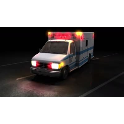 Car with hazard lights on clipart picture library stock Police Car Flash - A PowerPoint Template from PresenterMedia.com picture library stock