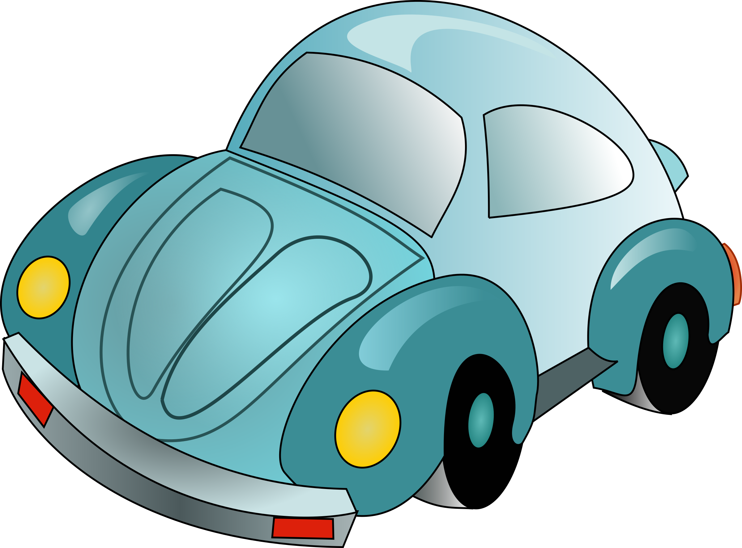 Car with hood open clipart clip art stock VW by @antroares, A volkwagen beetle car, on @openclipart | clipart ... clip art stock