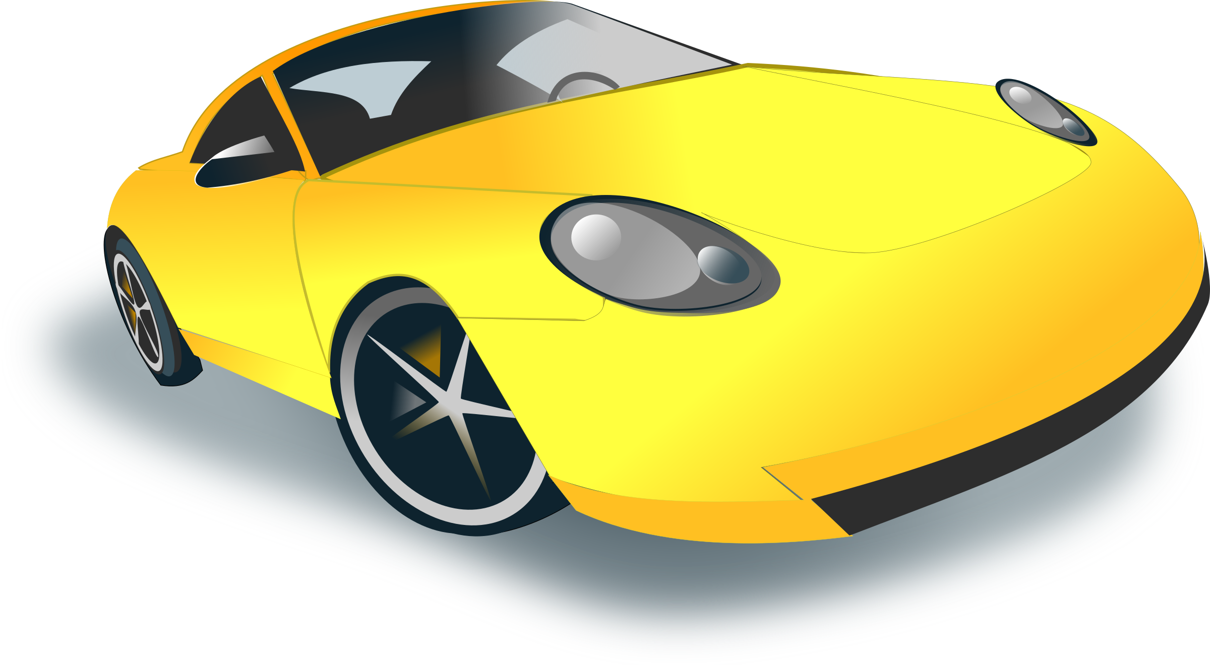 Car with hood open clipart image royalty free Clipart - sports car image royalty free