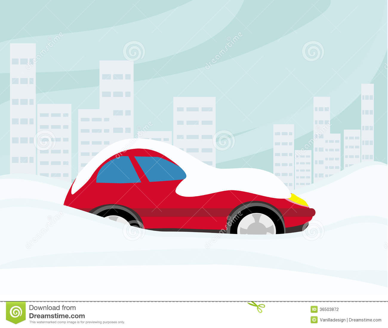 Car with snow car clipart black and white library Frozen Car Stock Illustrations – 197 Frozen Car Stock ... black and white library