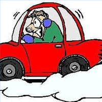 Car with snow car clipart picture freeuse download Winter Driving Clipart - Clipart Kid picture freeuse download