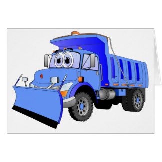 Car with snow car clipart vector free stock Snow Plow Cards | Zazzle vector free stock