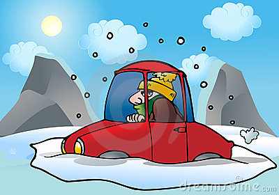 Car with snow car clipart picture freeuse Car with snow car clipart - ClipartFest picture freeuse