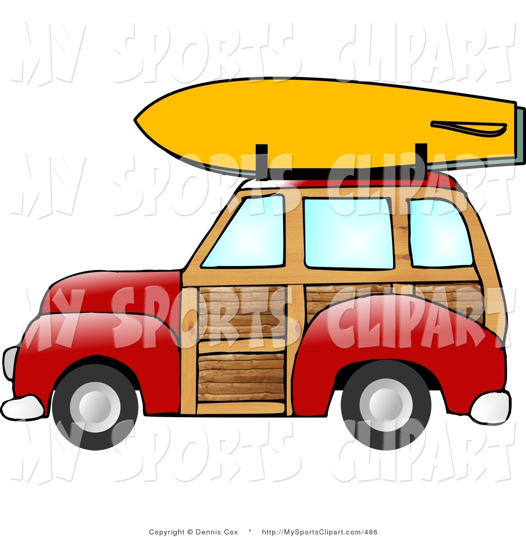 Clipartfest sports clip art. Car with surfboard clipart