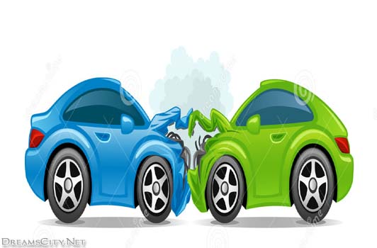 Free clipart car crash.  clip art clipartlook
