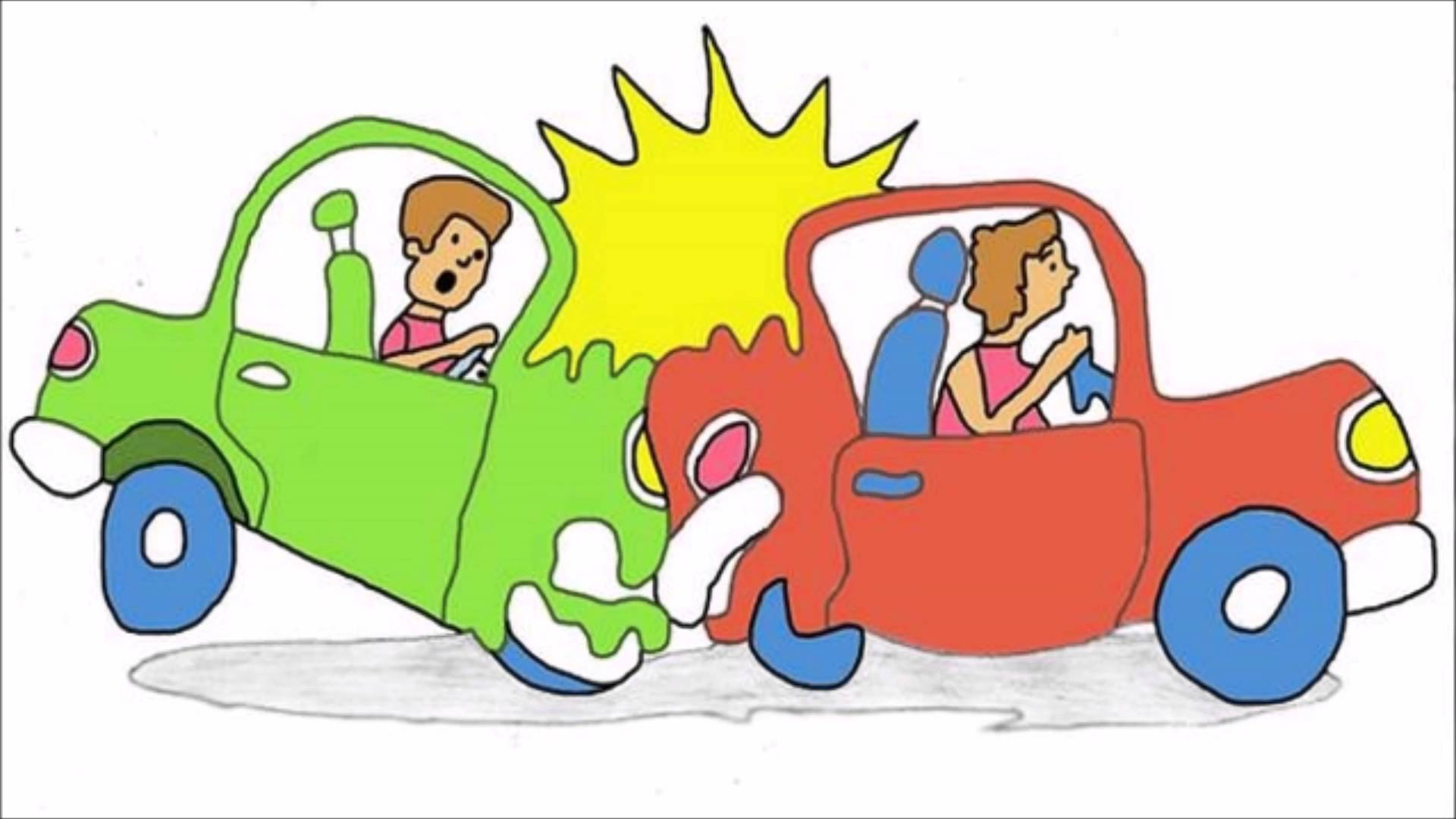Car wreck green clipart banner Car Crash Cartoon Pictures Group with 20+ items banner