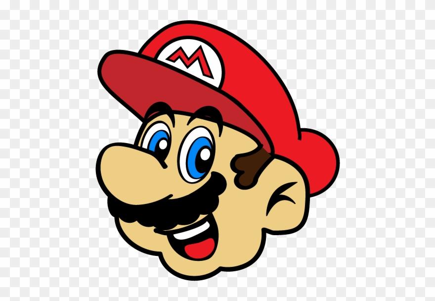 Cara de piranha clipart svg download Mario Clipart Face - Cara De Mario Bros - Png Download (#992632 ... svg download