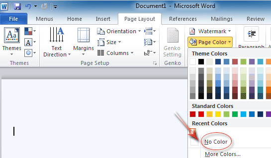 Remove white background from clipart in word