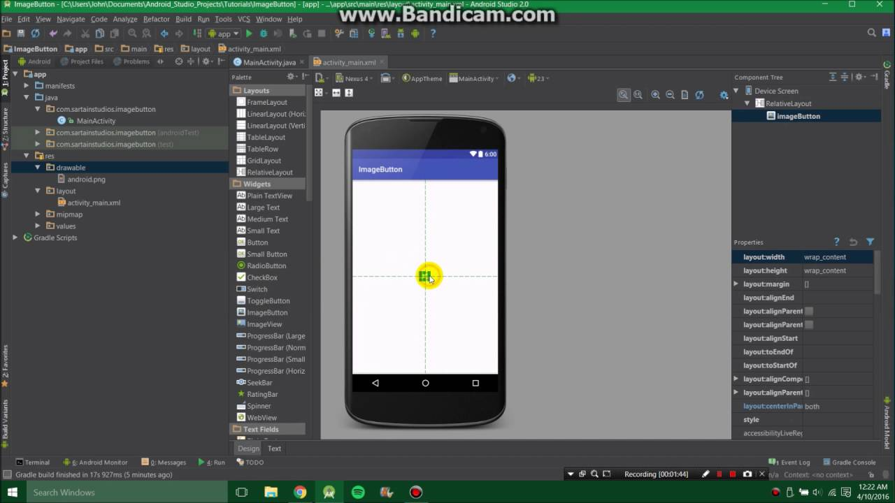 Cara merubah format jpg ke clipart di android banner black and white How to use image button with Android Studio to do anything banner black and white