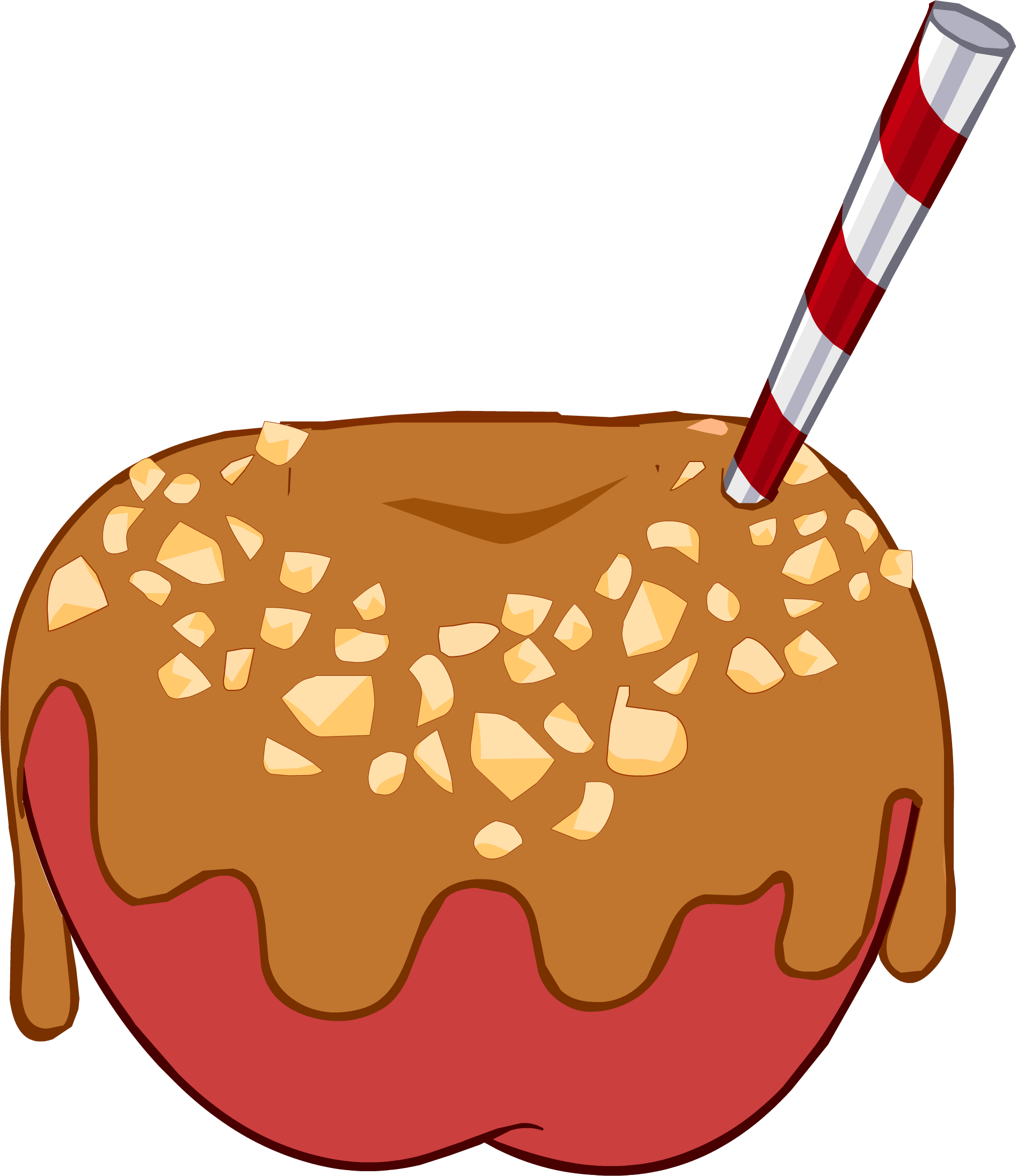 Carmel apple clipart graphic library stock Caramel Apple Clipart | Free download best Caramel Apple Clipart on ... graphic library stock