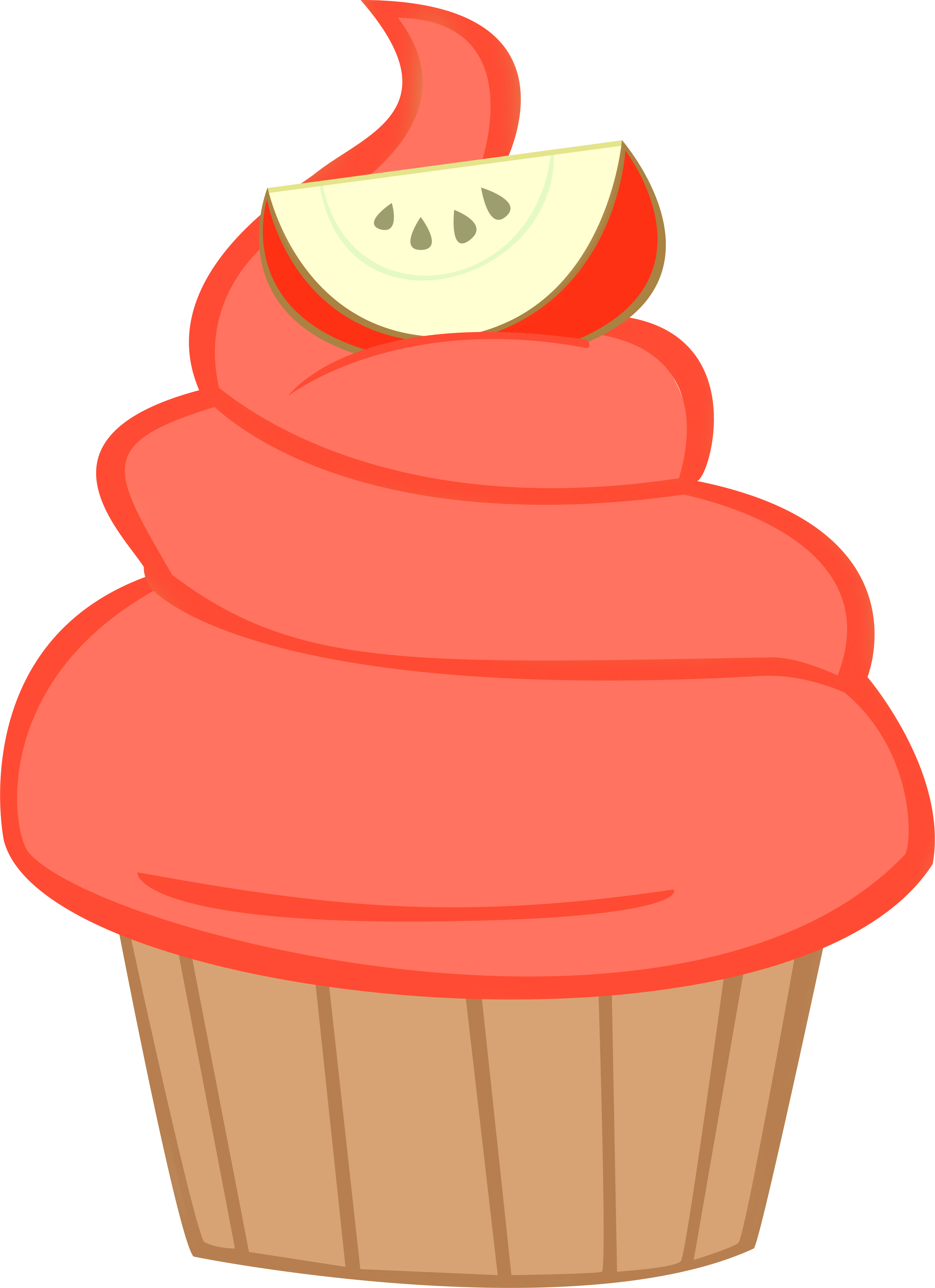 Caramel apple clipart images clip transparent library Image result for mlp cupcake vector   MLP & EQG objects and ... clip transparent library
