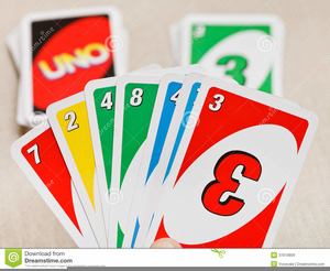 Card games clipart png freeuse Uno Card Game Clipart   Free Images at Clker.com - vector clip art ... png freeuse