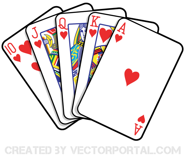 Playing card clipart free