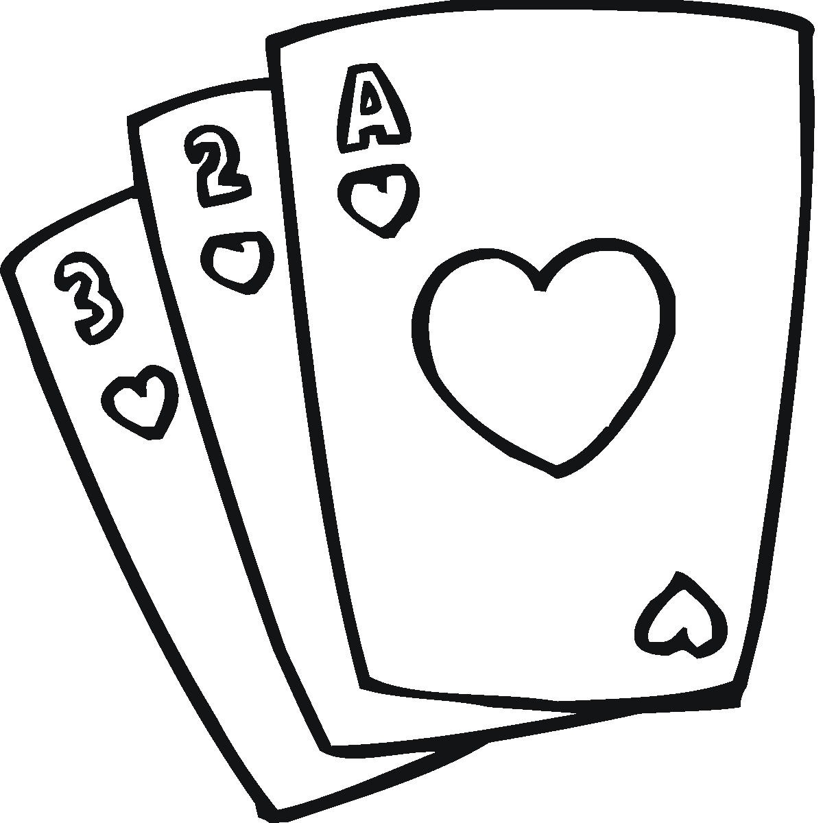 Card playing clipart vector black and white download Free Playing Card Clipart, Download Free Clip Art, Free Clip Art on ... vector black and white download