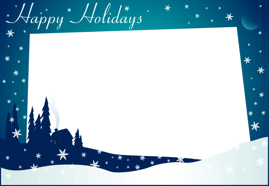 Card template clipart picture free Christmas Card Template clipart - Holiday, Birthday, Blue ... picture free