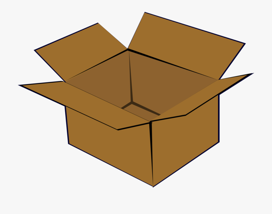 In the box clipart picture black and white Cardboard - Clipart - Box Clipart #927163 - Free Cliparts on ClipartWiki picture black and white