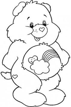 Care bears clipart black and white image library 110 Best Care Bears and friends images in 2018 | Care bears, Care ... image library