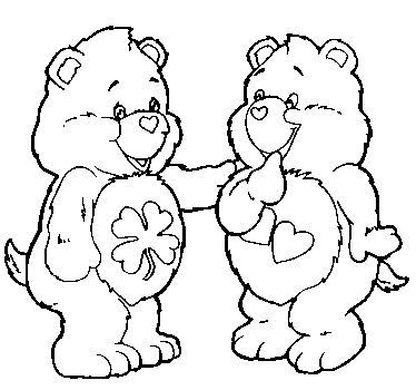 Care bears clipart black and white image royalty free Clip Art - Clip art care bears 526985 - Clip Art Library image royalty free