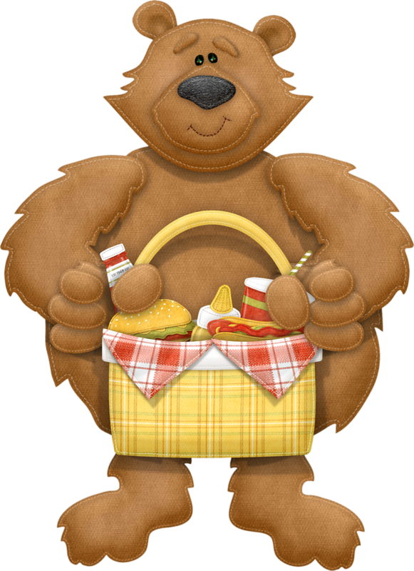 Care bears clipart pumpkin clipart bear_basket.png | Picnics, Bears and Clip art clipart