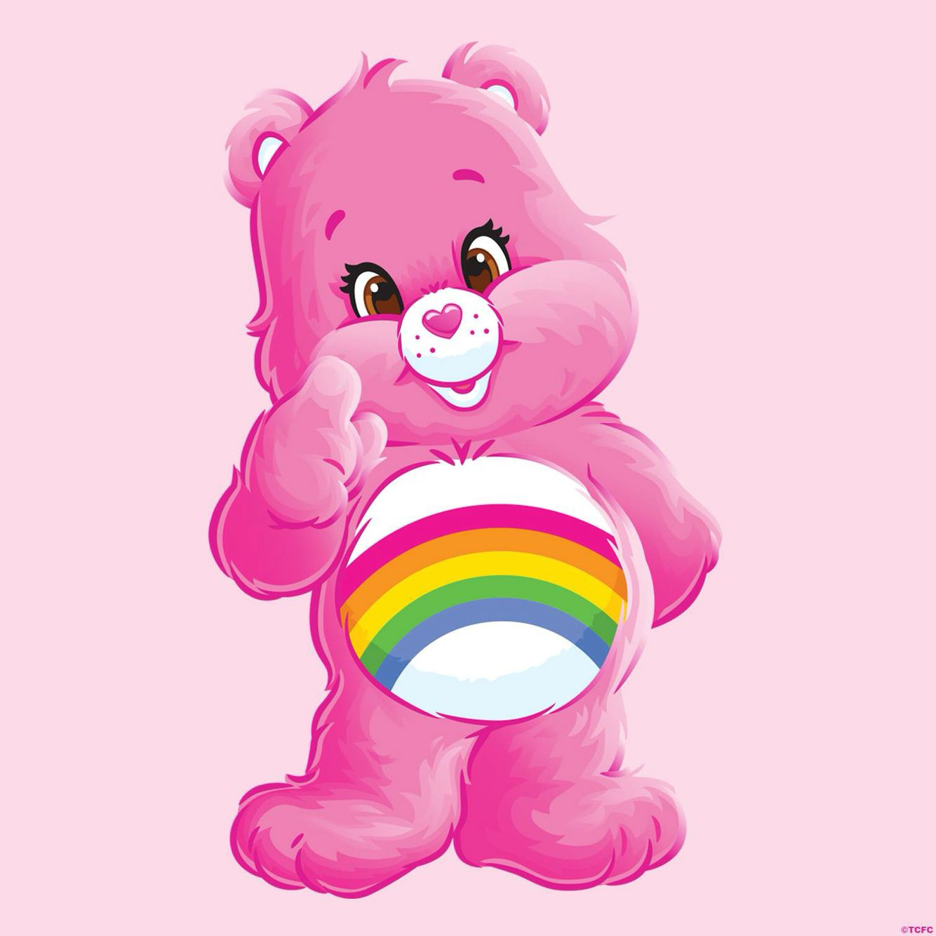 Care bears on rainbow clipart royalty free download 3 \