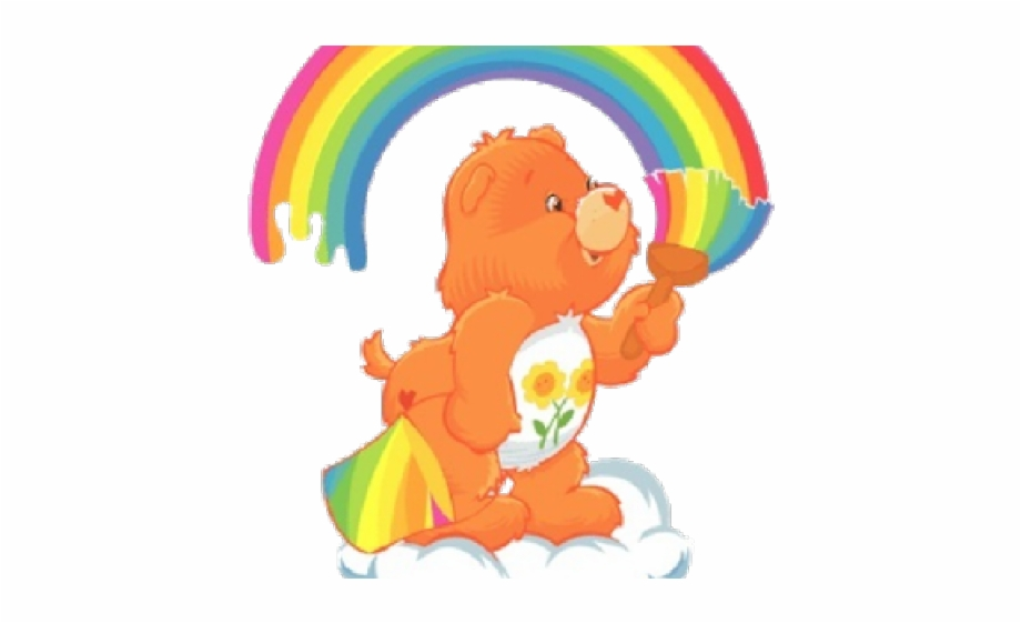 Care bears on rainbow clipart image royalty free stock Care Bears Rainbow Power Free PNG Images & Clipart Download #98404 ... image royalty free stock