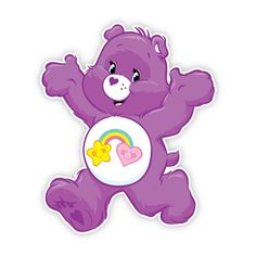 Care bears on rainbow clipart jpg black and white download 236 Best care bear clipart images in 2014   Care bears, Souvenirs ... jpg black and white download