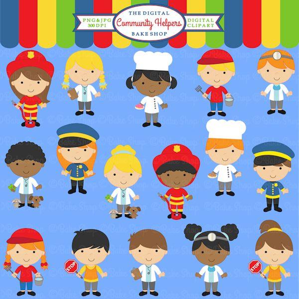 Career clipart for kids