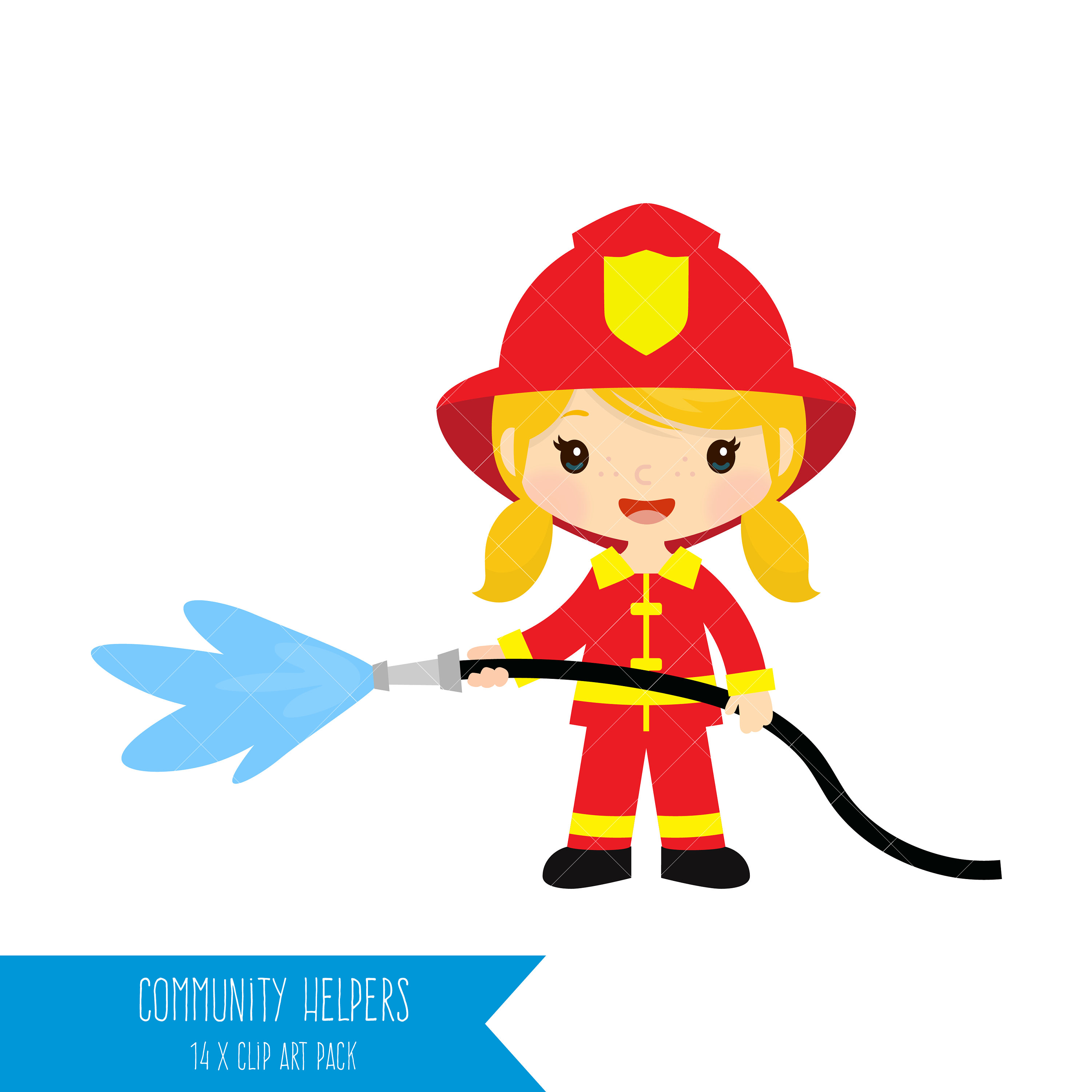 Clipart of different professions