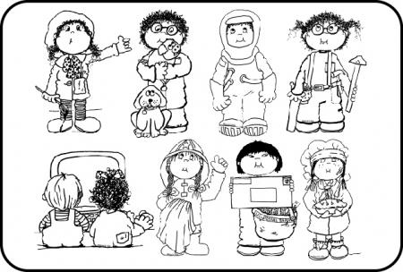 Cute community workers clipart black and white vector Collection of 14 free Careers clipart community worker aztec clipart ... vector